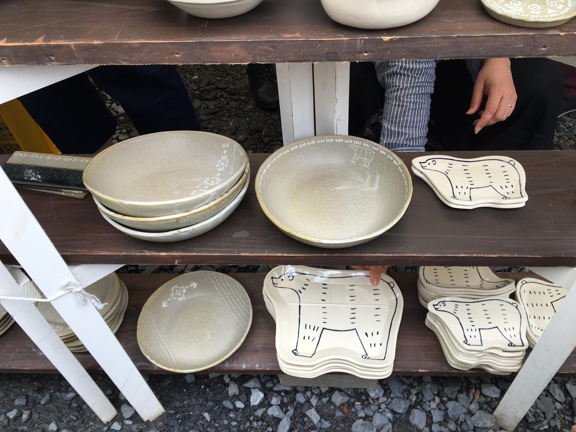 東峯未央 益子陶器市2016年春