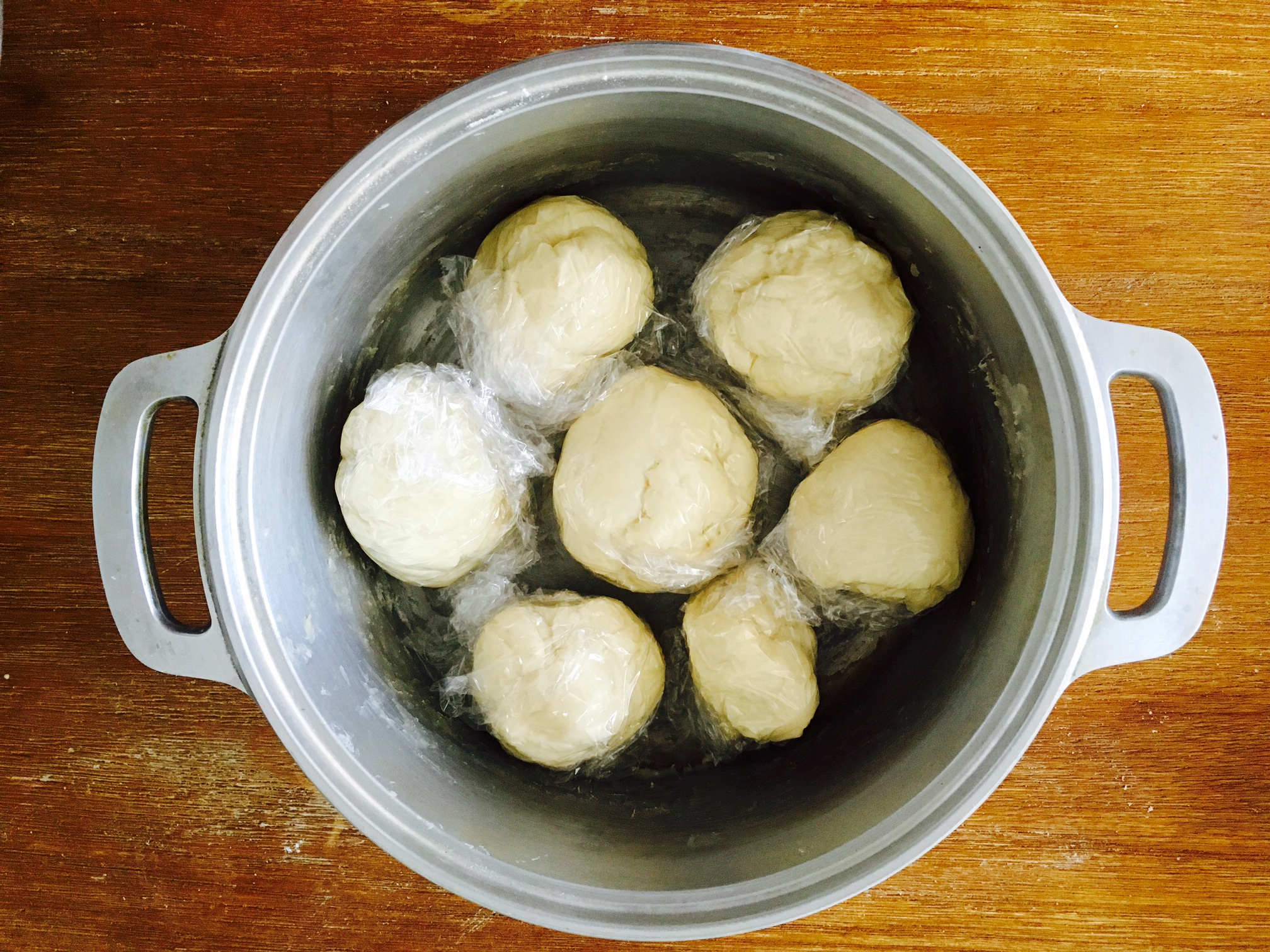無水鍋 パン 作り方11