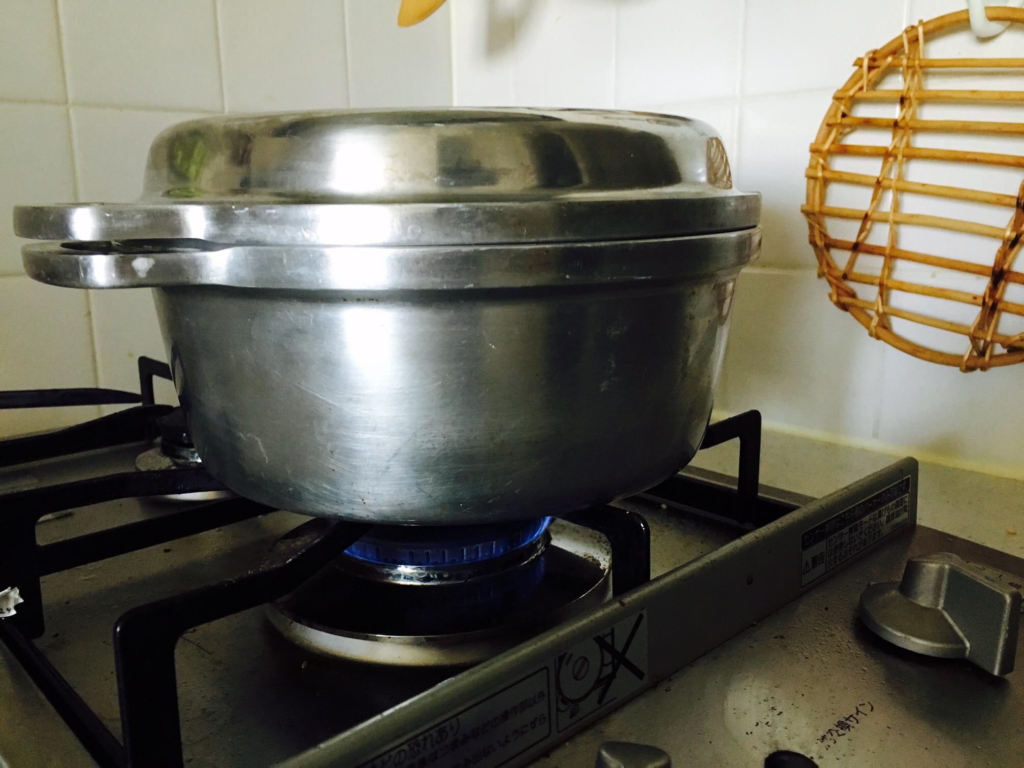 無水鍋 パン 作り方16