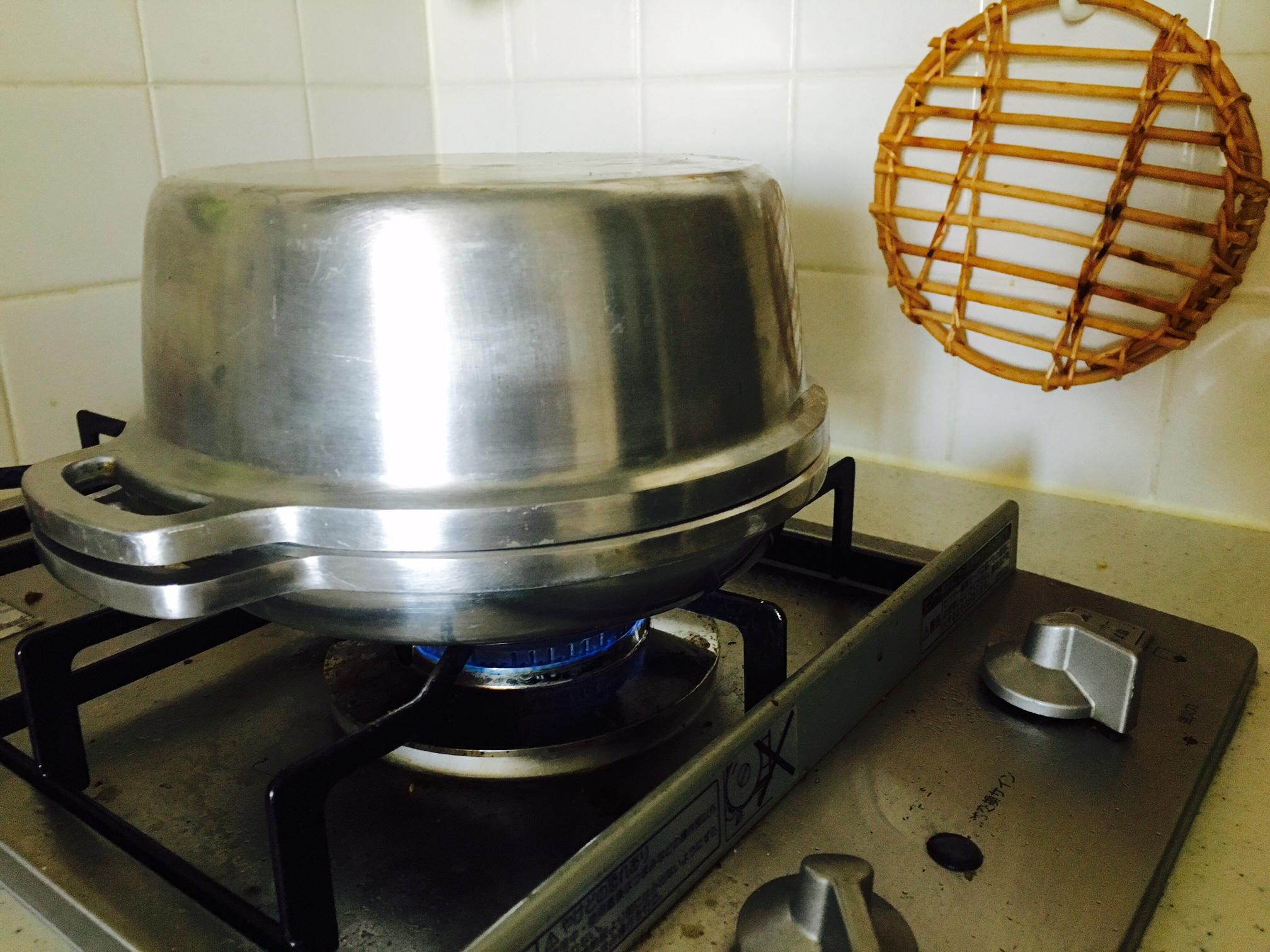 無水鍋 パン 作り方15