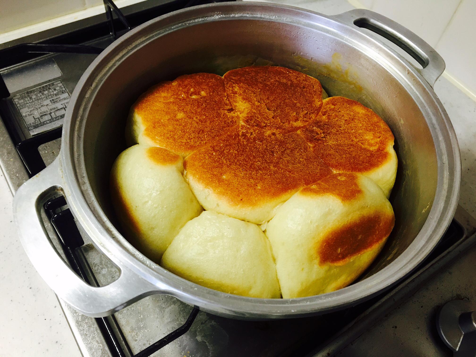 無水鍋 パン 作り方17