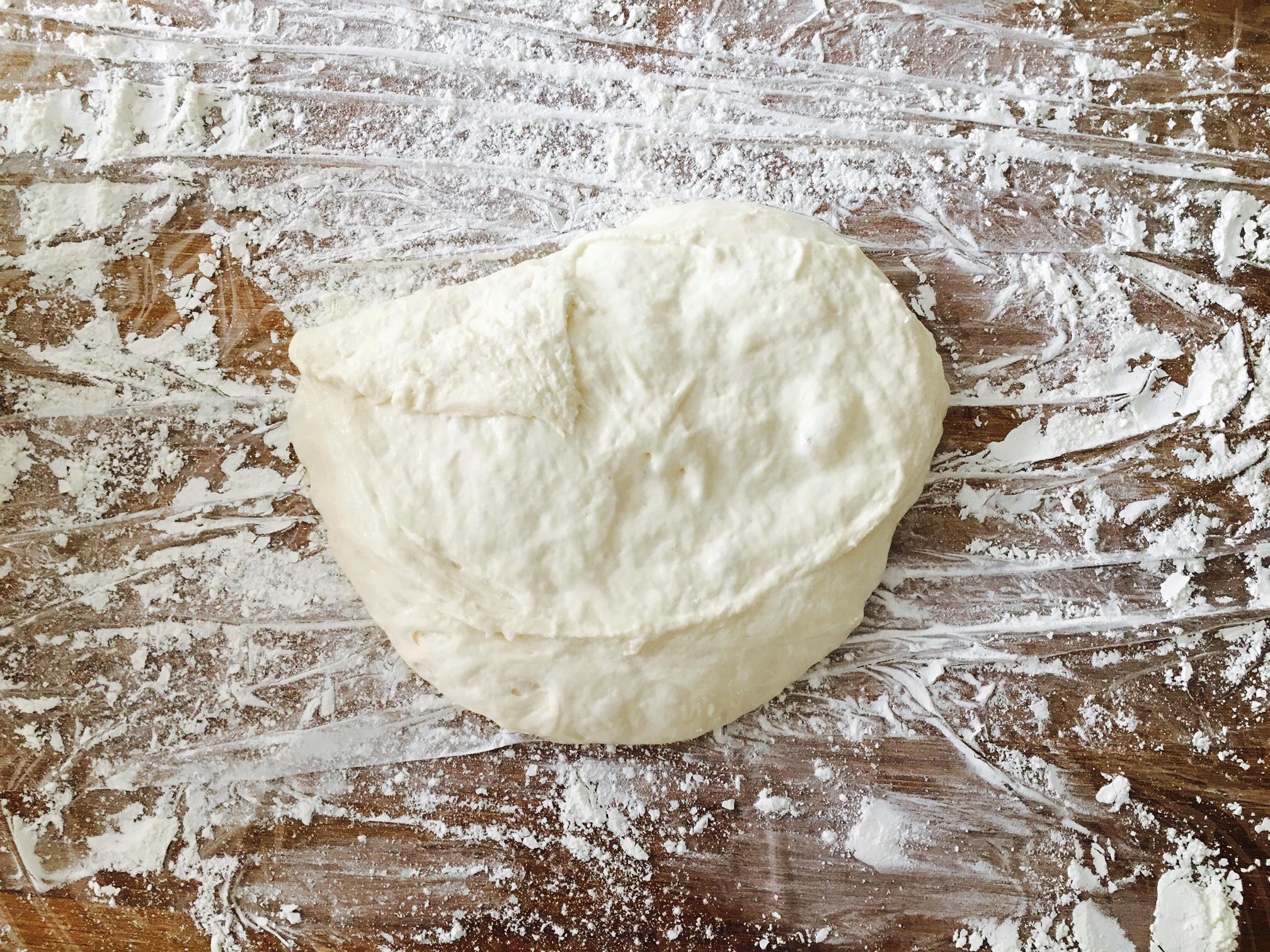 ストウブ 捏ねないパン 失敗2