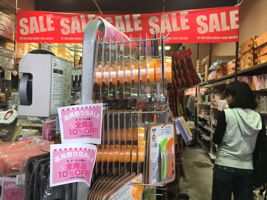 かっぱ橋道具まつり 2016年 浅見菓子道具店 10%オフ