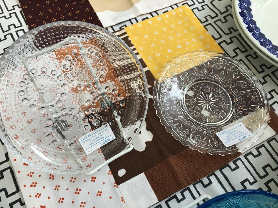 東京蚤の市 北欧ヴィンテージ食器 ガラス