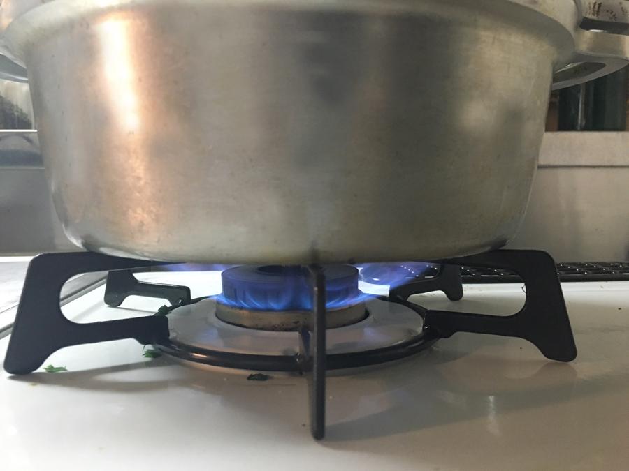無水鍋 炊飯 強火