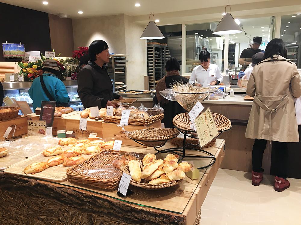 満寿屋商店(ますやパン)東京本店 の店内