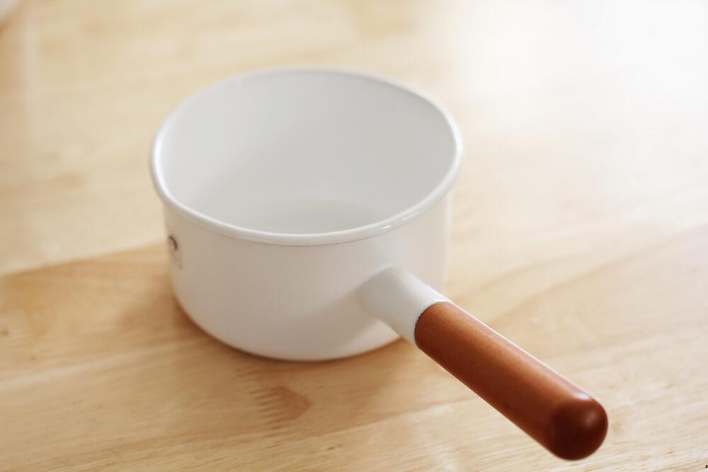 野田琺瑯 ポーチカ ミルクパン 12cm